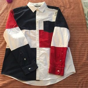 Tommy Hilfiger button up shirt long sleeve
